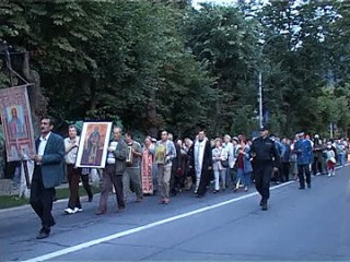 procesiune Sf Ilie Sinaia