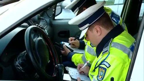 politie rutiera amenda